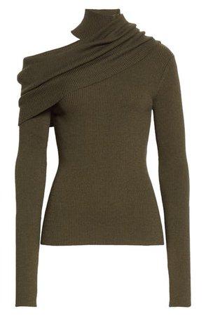 Monse One-Shoulder Merino Wool Blend Sweater | Nordstrom