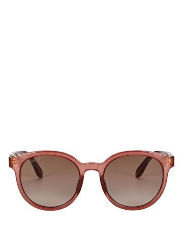 Gucci Rounded Cat Eye Sunglasses   INTERMIX®