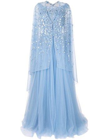 Saiid Kobeisy, embellished maxi dress