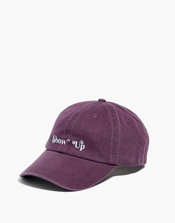 Feminist Goods Co. Show Up Baseball Cap
