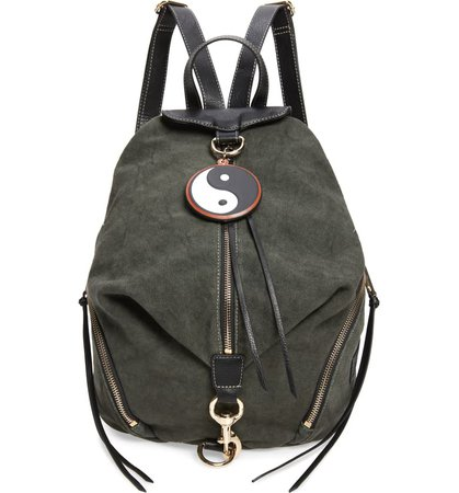 Rebecca Minkoff Julian Washed Canvas Backpack | Nordstrom