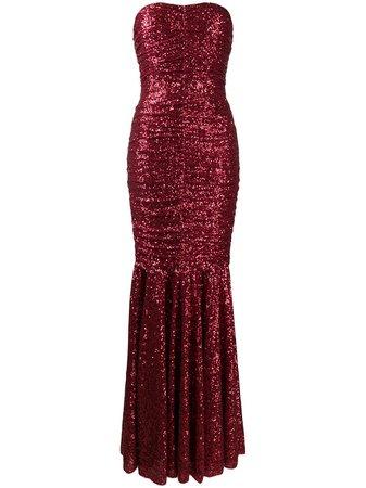 Vestido largo con lentejuelas Dolce & Gabbana por 5,500€ - Compra online AW20 - Devolución gratuita y pago seguro