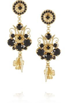 dolce and gabbana earrings gold