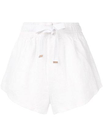 White Venroy Drawstring Shorts For Women | Farfetch.com