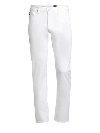 AG Jeans Graduate Slim Straight-Fit Jeans | SaksFifthAvenue