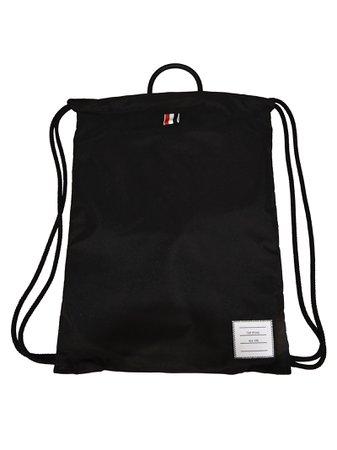 Thom Browne Drawstring Backpack