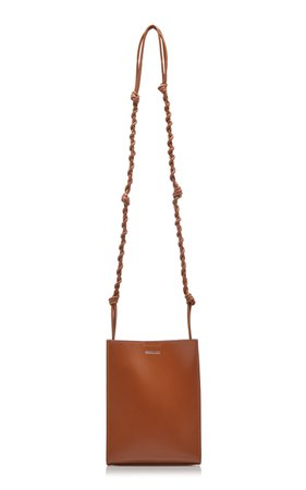 Jil Sander Tangle Small Leather Shoulder Bag