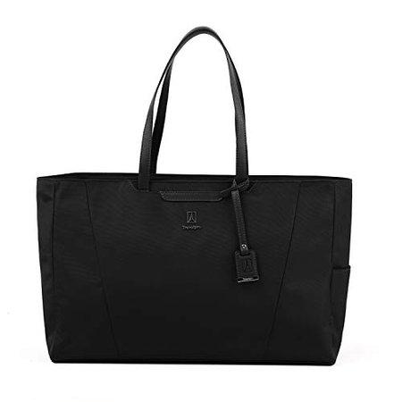 Amazon.com | Travelpro Women's Maxlite 5-Laptop Carry-On Travel Tote Bag, Black, One Size | Travel Totes