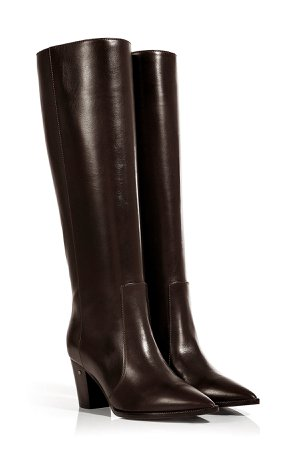 Leather Knee-High Boots Gr. IT 38