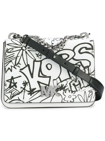 Michael Michael Kors Grafitti Shoulder Bag - Farfetch