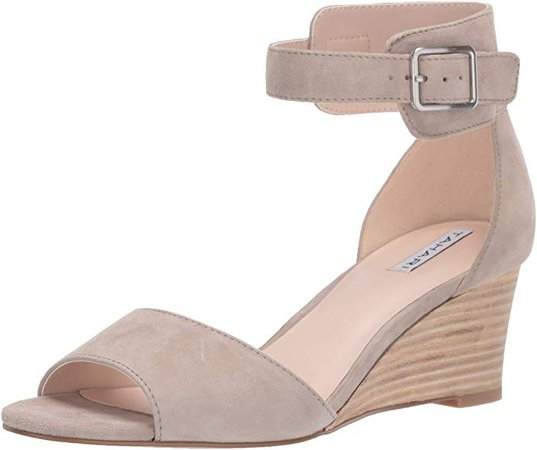 Amazon.com | Tahari Women's Pacen Wedge Sandal | Sandals