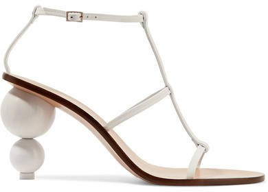Eden Leather Sandals - White