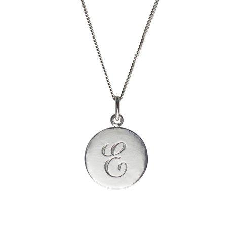 "Cursive ""E"" Necklace"