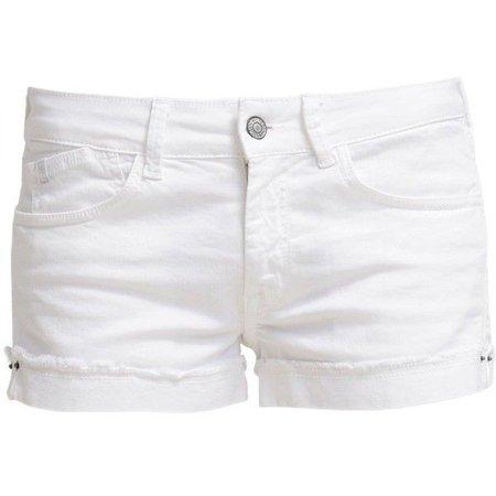 White Denim Jean Shorts - Hardon Clothes
