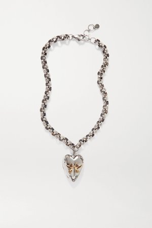 Alexander McQueen Necklace Heart