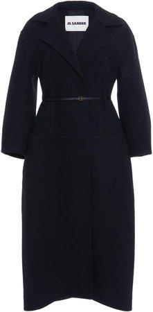 Jil Sander Belted Wool Coat
