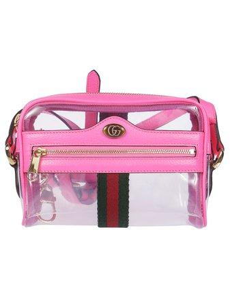 Gucci Ophidia Mini Transparent Shoulder Bag