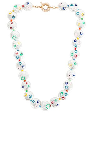 8 Other Reasons Painted Pearl Necklace in Multi | REVOLVE