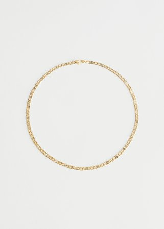 Square Link Chain Necklace - Gold - Necklaces - & Other Stories