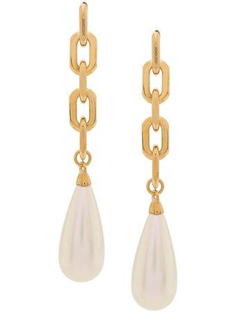 AMBUSH drop pearl earrings
