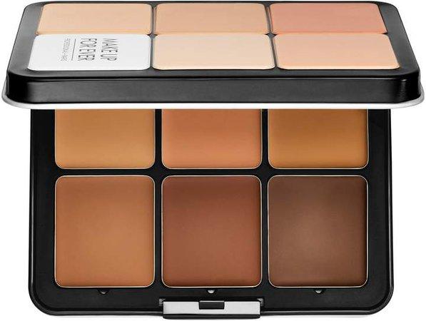 Ultra HD Invisible Cover Cream Foundation Palette
