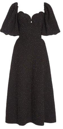 Markarian Greta Cutout Midi Dress