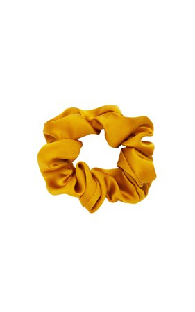 Chiquita Silk Scrunchie by Donni. | Moda Operandi