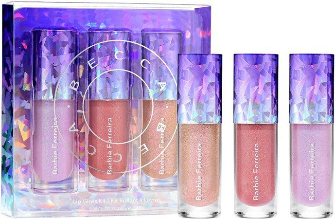 Mini Barbie Ferriera Pristmatica Lip Gloss Set