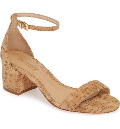 Schutz Chimes Ankle Strap Sandal (Women) | Nordstrom