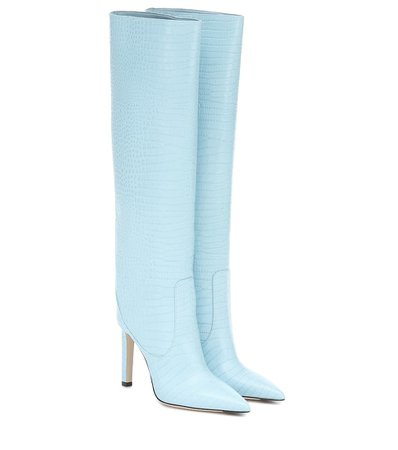Mavis 100 Leather Knee-High Boots | Jimmy Choo - Mytheresa