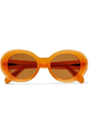 Acne Studios   Mustang round-frame acetate sunglasses   NET-A-PORTER.COM