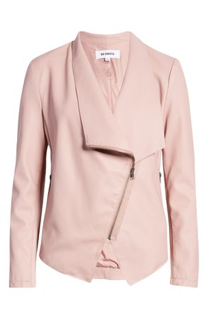 BB Dakota Gabrielle Faux Leather Asymmetrical Jacket | Nordstrom