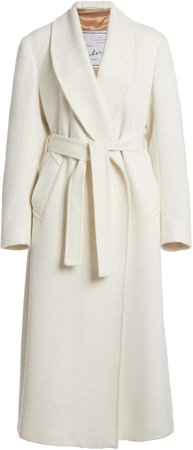Giuliva Heritage Collection The Linda Herringbone Wrap Coat