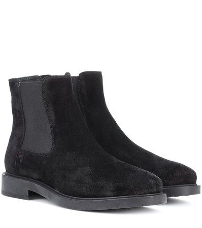 Stivaletti In Suede - Tod's   mytheresa