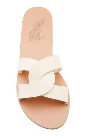 Desmos Leather Slides by Ancient Greek Sandals | Moda Operandi