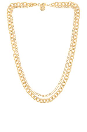 Cloverpost Settle Necklace in Yellow Gold | REVOLVE