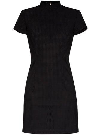 MARCIA perforated mini dress