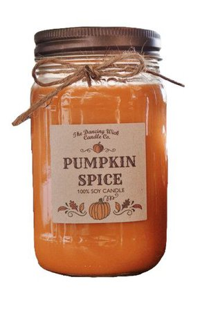 pumpkin spice orange jar png filler