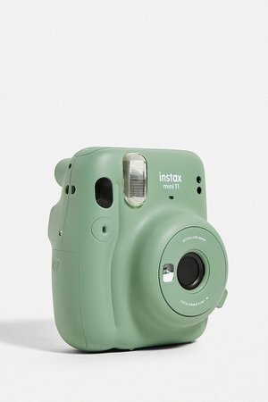 Fujifilm Instax Mini 11 Sage Camera | Urban Outfitters UK