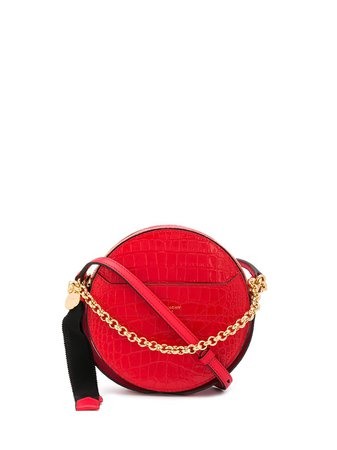 Shop red Givenchy Eden round crossbody bag with Express Delivery - Farfetch