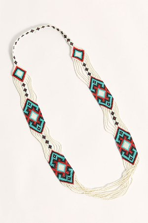 Niada Beaded Necklace | Free People