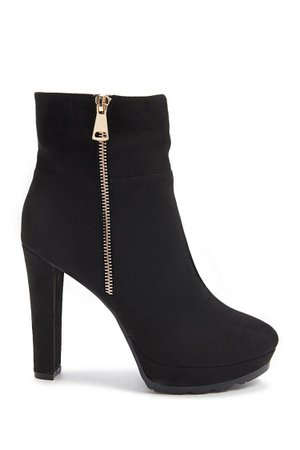 Faux Suede Booties | Forever 21