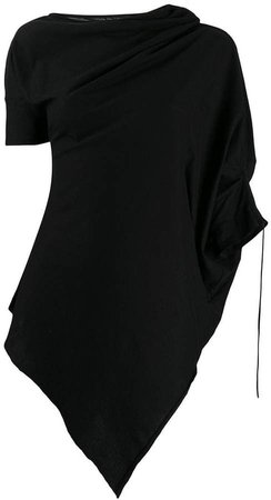 deconstructed tunic blouse