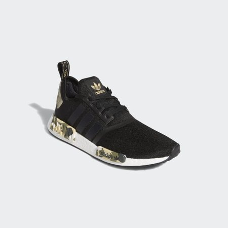 NMD R1 Black and Camo Shoes   adidas US