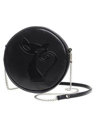 """""""Black Cat"""" Bag by Alchemy Of England 