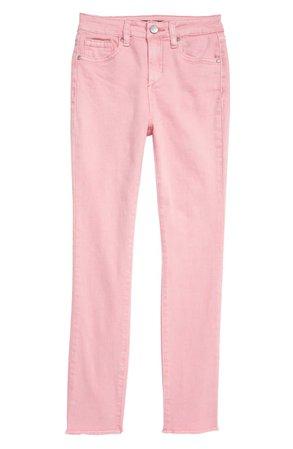 Joe's The Charlie High Waist Raw Hem Ankle Skinny Jeans (Big Girl) | Nordstrom