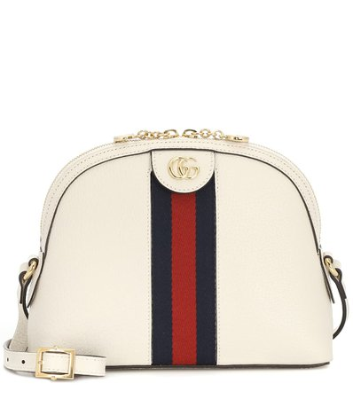 Ophidia Small Leather Shoulder Bag   Gucci - Mytheresa