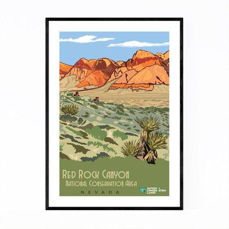 Red Rock Print Red Rock Canyon Art Nevada Print Nevada Wall | Etsy