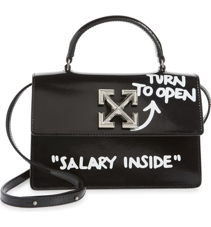 Off-White Jitney 1.4 Leather Crossbody Bag | Nordstrom