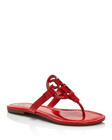 Tory Burch Women's Miller Thong Sandals | Bloomingdale's